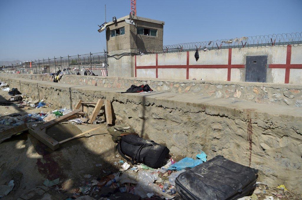 Aeropuerto de Afganistán tras atentado / AFP.