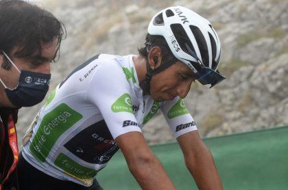 Egan Bernal habla sobre el retiro de Supermán López de la Vuelta a España