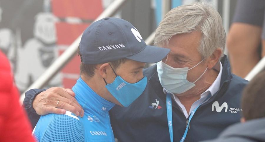 Miguel Ángel López y Movistar Team: que dijo sobre supuesto despido.