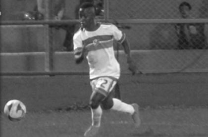 Jeimar Rentería, jugador de fútbol asesinado.