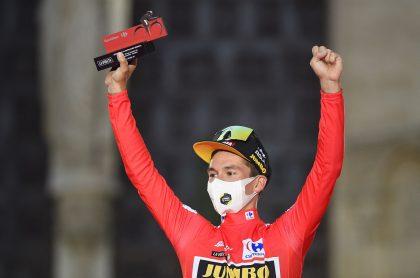 Así quedó la clasificación general de la Vuelta a España 2021 después de disputada la etapa 21. Egan Bernal teminó sexto.