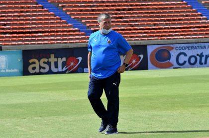 Hernán Darío 'Bolillo' Gómez renunció a Independiente Medellín hoy