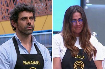 'Masterchef': eliminado Emmanuel Esparza entre lágrimas de Carla Giraldo