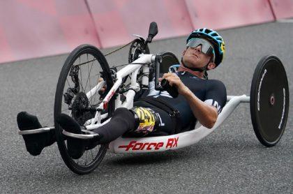 Imagen de un ciclista paralímpico que ilustra nota; en Bucaramanga, uno pide ayuda para ir a torneo en España