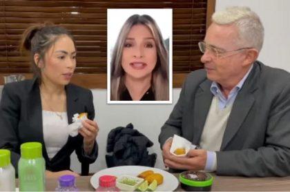 Vicky Dávila salió en defensa de 'Epa Colombia' luego de que se reuniera con el expresidente Álvaro Uribe.