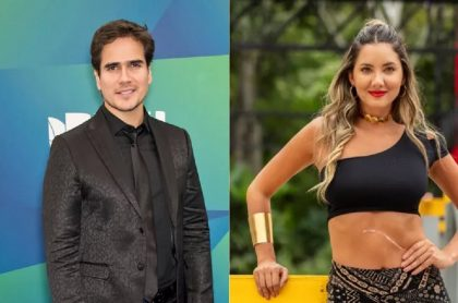Daniel Arenas y Daniella Álvarez, quienes confirmaron su noviazgo en redes sociales