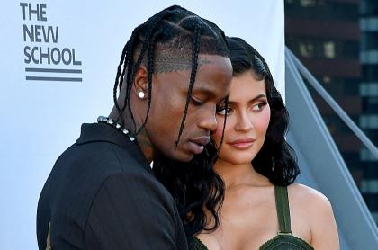 Travis Scott y Kylie Jenner, que esperan su segundo hijo