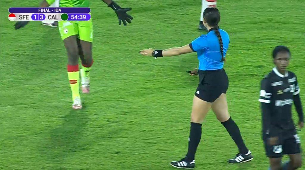 Mariana Quintero Serna / Pantallazo, Win Sports
