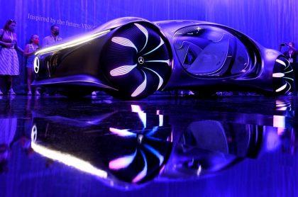 Mercedes-Benz agrega control mental a un prototipo, el auto del futuro