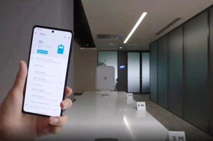 Motorola presentó un cargador de celulares a distancia