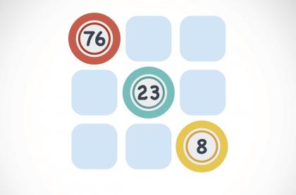 Balotas en cuadrícula ilustran qué lotería jugó anoche y resultados de las loterías de Valle, Manizales y Meta.