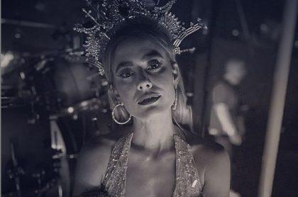 Carolina Ramírez mostró cómo terminó de delgada por culpa de las últimas grabaciones de 'La reina del flow', novela de Caracol Televisión.