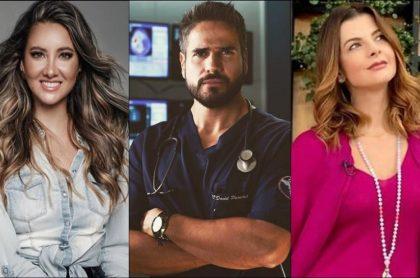 Daniella Álvarez, Daniel Arenas y Carolina Cruz, mencionados ahora que hay noviazgo del actor