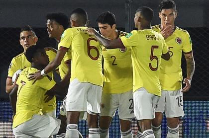 Ver Colombia vs. Chile hoy en vivo y directo; Eliminatoria suramericana. Imagen del elenco cafetero.