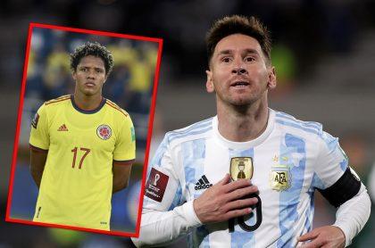 Periodista argentino comparan a Yairo Moreno con Lionel Messi.