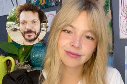 Fotos de Andrés Cabas y Johana Bahamón, en nota de publicación que hizo ella y a la que él respondió.