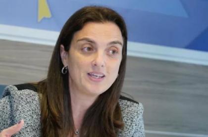 Karen Abudinen, saliente ministra de las TIC.
