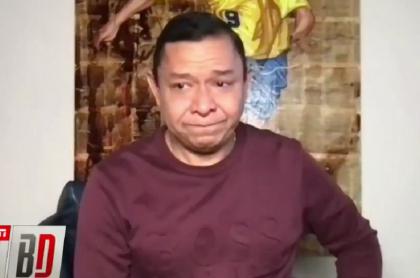 Iván René Valenciano lloró en TV porque Santa Fe contrató a su hijo
