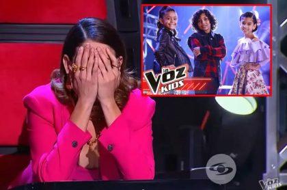 Natalia Jiménez, en 'La voz kids'.
