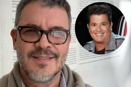 Fotos de Guillermo Vives y Carlos Vives, en nota de qué le dijo Guillermo a Carlos.