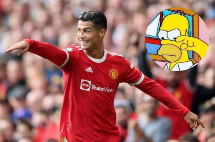 Foto de Cristiano Ronaldo y de meme, en nota de cántico de Bambino Pons por Cristiano Ronaldo y memes del tema.