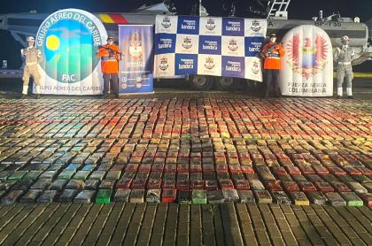 Incautan 2.479 kilos de clorhidrato de cocaína en San Andrés.