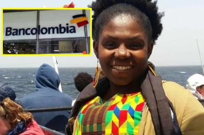 Francia Márquez, quien dijo que Bancolombia no le dejó abrir cuenta bancaria