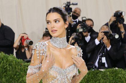 Kendall Jenner en el Met Gala.