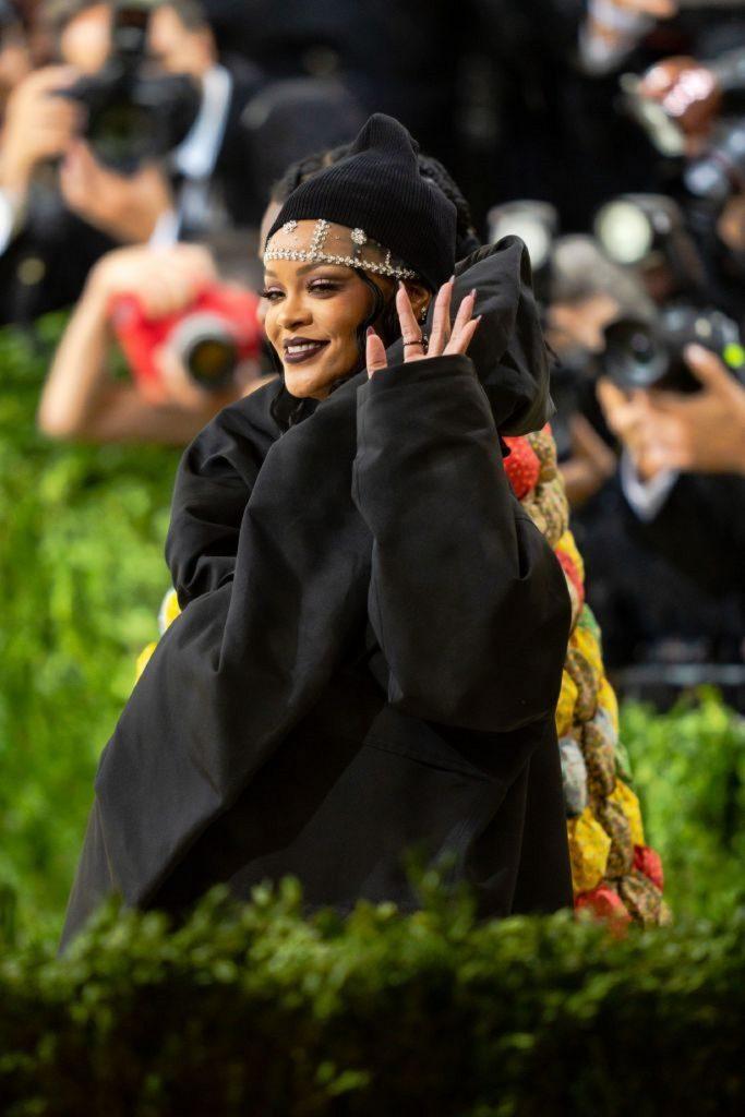 Rihanna en el Met Gala / Getty Images.