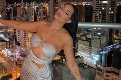Andrea Valdiri, 'influenciadora' y bailarina barranquillera.