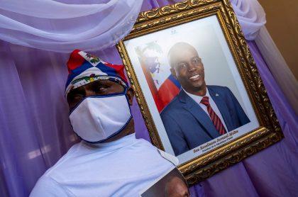 Imagen de funeral de presidente de Haití; fiscal pide que primer ministro sea inculpado en caso Jovenel Moise