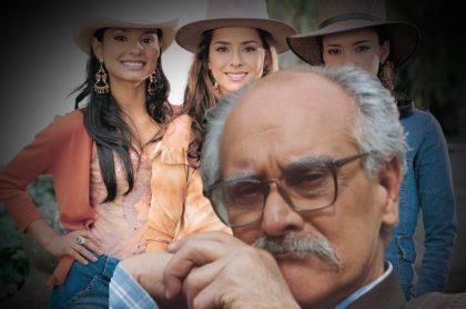 Jorge Cao, Paola Rey, Danna García y Natasha Klauss en 'Pasión de gavilanes', a propósito de que el actor confirmó que no estará en la segunda temporada..