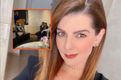 Carolina Cruz le mandó mensaje a Daniella Álvarez al verla en un evento con su ex Daniel Arenas