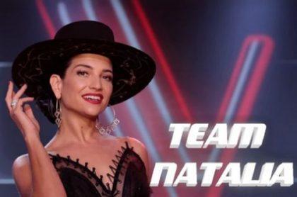 Natalia Jiménez en 'La voz kids'