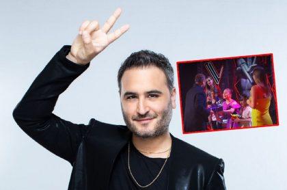 Jesús Navarro les dio regalos a sus pupilos en 'La voz kids'.