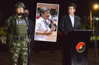 Claudia López dice que no es jefe de Policía porque le corresponde al Mindefensa