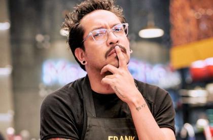 Foto de Frank Martínez, en nota de qué contó acerca de trabajo estable.
