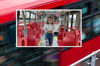 Epa Colombia le puso su cara a un bus de Transmilenio.