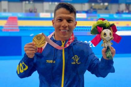 Foto de Nelson Crispín, en nota de denuncias de medallistas paralímpicos por incumplimiento.
