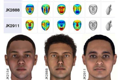 Reconstruyen con gran precisión los rostros de 3 momias egipcias