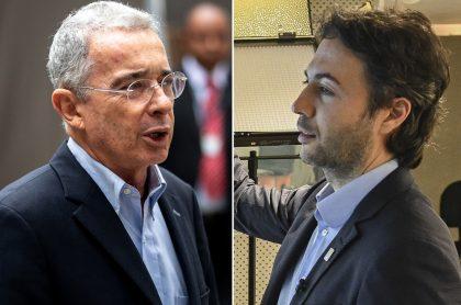 Álvaro Uribe y Daniel Quintero, a propósito de qué es 'pelagatos' la palabra viral que usaron en pelea que tienen..jpg