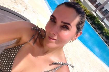 Mónica Rodríguez se dejó en bikini en Cartagena; seguidores la elogiaron.