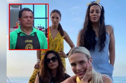 'Masterchef': Lucho Díaz habla mal de las cuatro babys y apoya a humoristas