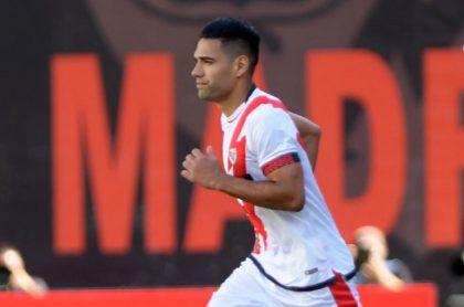 Video del gol de Falcao García en su debut con el Rayo Vallecano ante el Getafe por la quinta fecha de la liga de España.
