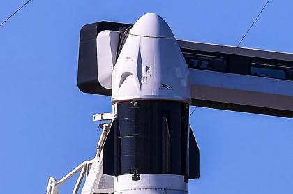 Imagen de la cápsula Dragon ilustra artículo SpaceX: detalles del viaje en cápsula Dragon