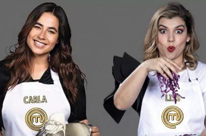 Liss Pereira le envió vainazo a Carla Giraldo al ver que plato le quedó mal