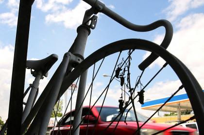 Imagen de bicicleta ilustra artículo Conductor borracho arrolló a siete ciclistas en Valle
