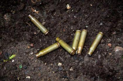 Imagen de balas que ilustra una masacre en el Valle del Cauca.