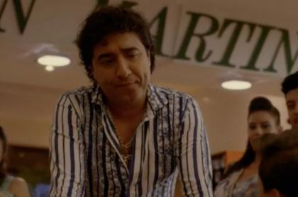 Franco Che, actor que interpreta a Diomedes Díaz en 'El hijo del cacique' denuncia amenazas.