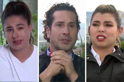 'Masterchef': llanto de Gregorio Pernía por pelea con Carla Giraldo
